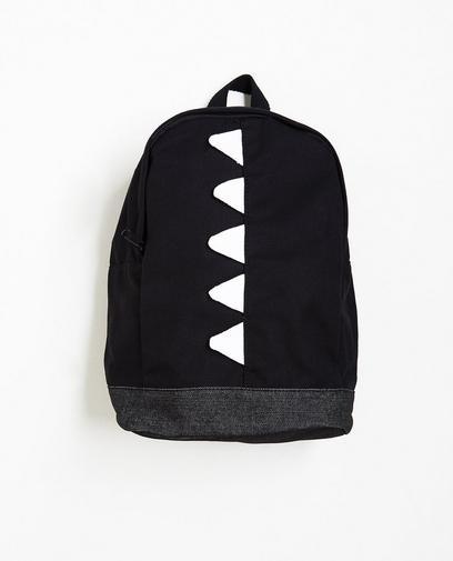 Zwarte rugzak